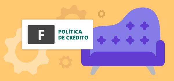 Política de crédito para o segmento de Móveis